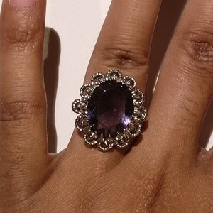 Banana Republic Purple Vintage Style Ring